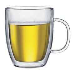 Bodum® Bistro Double-Wall 15-oz. Mug – Set of 2