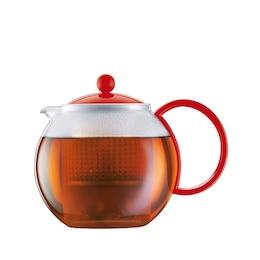 Bodum® Assam 34-oz. Classic Tea Press – Red