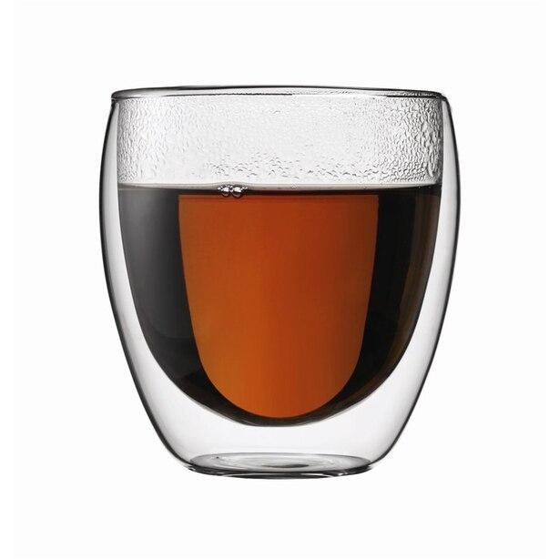 BODUM PAVINA DOUBLE WALL GLASSES 300ML SET OF 2