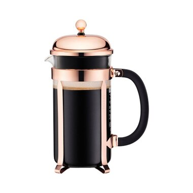 bodum chambord 34 oz french coffee press copper by bodum coffee brewing gifts chapters. Black Bedroom Furniture Sets. Home Design Ideas