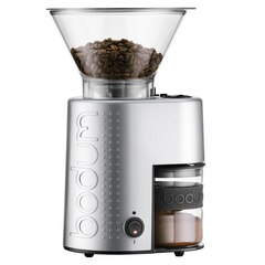 Bodum®Bistro Burr Coffee Grinder – Stainless Steel