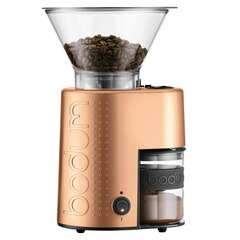 Bodum®Bistro Burr Coffee Grinder – Copper