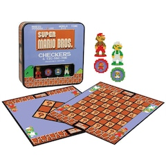 Super Mario Bros.™ Checkers & Tic-Tac-Toe Collector's Edition