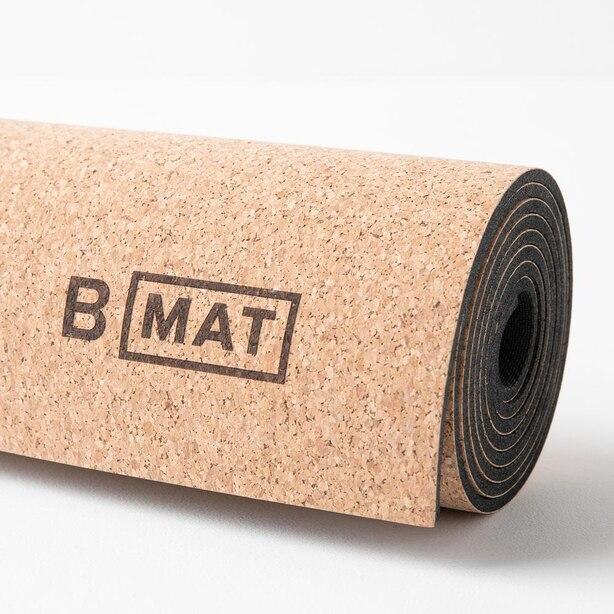 B MAT CORK YOGA MAT 4MM