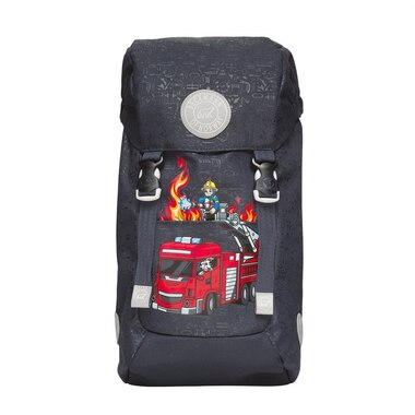 BECKMANN OF NORWAY KIDS HIKING BACKPACK, 20L K FIRE TRUCK