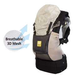 Lillebaby Carrier Complete Airflow, Grey with Silver