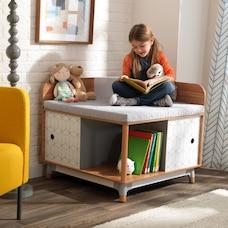 KidKraft Mid-Century Kid™ Corner Reading Nook