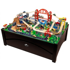 KidKraft Ensemble Train et table Metropolis