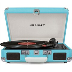 CROSLEY CRUISER TURNTABLE - TURQUOISE