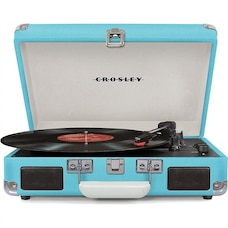 CROSLEY CRUISER DELUXE TURNTABLE - TURQUOISE
