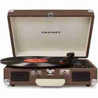 Crosley Cruiser Deluxe Turntable - Taupe