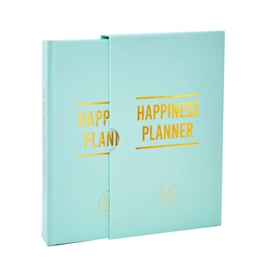 THE 100-DAY HAPPINESS PLANNER LINEN MINT