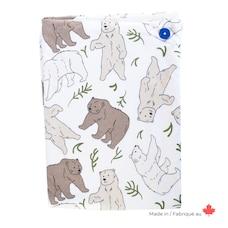 Hands-free towel - Three Bears