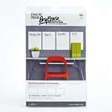 Peel & Stick Dry Erase Sheets - White, Set of 4