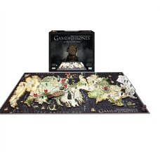 4D Cityscape Puzzle Game of Thrones Westeros