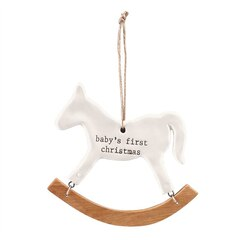 Mud Pie® Christmas Ornament Rocking Horse