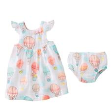 Mud Pie Balloon Muslin Dress 9 - 12 Months