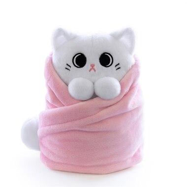 Purritos Wrapped Plush Cat Mochi Extra Large