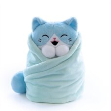 Purritos Wrapped Plush Cat Tuna Extra Large