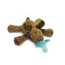 WubbaNub Infant Pacifier - Holiday Edition - Reindeer