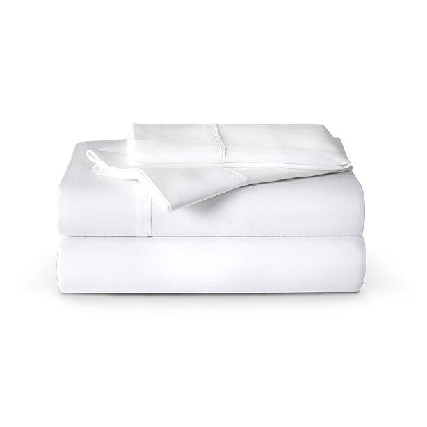 ENDY ORGANIC COTTON SHEETS - ALPINE WHITE, QUEEN