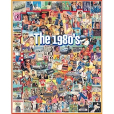 White Mountain Puzzles The Eighties 1000 Piece Puzzle