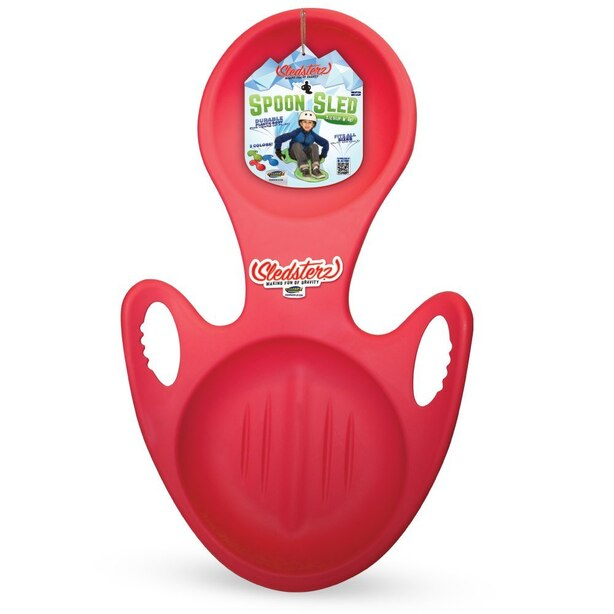 Sledsterz Spoon Sled - Red