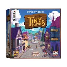 Jeu de plateau -Tiny Towns (anglais)