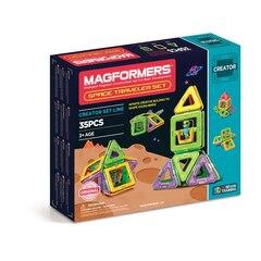 Magformers - Space Traveler Set, 35-Pieces