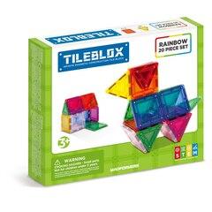 Magformers TileBlox Rainbow - 20 Set