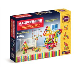Magformers - My First Set Line, 54-Pieces
