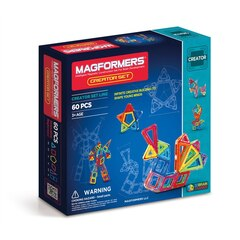 Magformers - Creator Set, 60-Pieces
