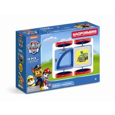MAGFORMERS PAW PATROL ON A ROLL VEHICLE 19 SET