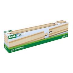 BRIO Long Straight Tracks