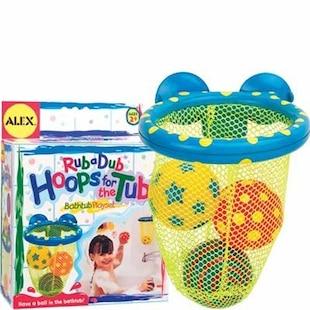 RUB-A-DUB HOOPS FOR THE TUB