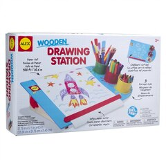 Wooden Drawing Station