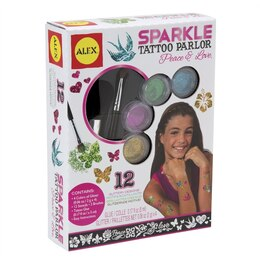 Sparkle Tattoo Parlor - Peace & Love
