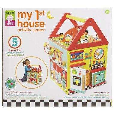 Alex® Activity Cube My First House
