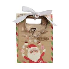 Merry & Bright Heart Cookie Mug Topper Kit