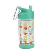 FLIP & SIP CLEAR TRITAN WATER BOTTLE, HAPPY CACTUS