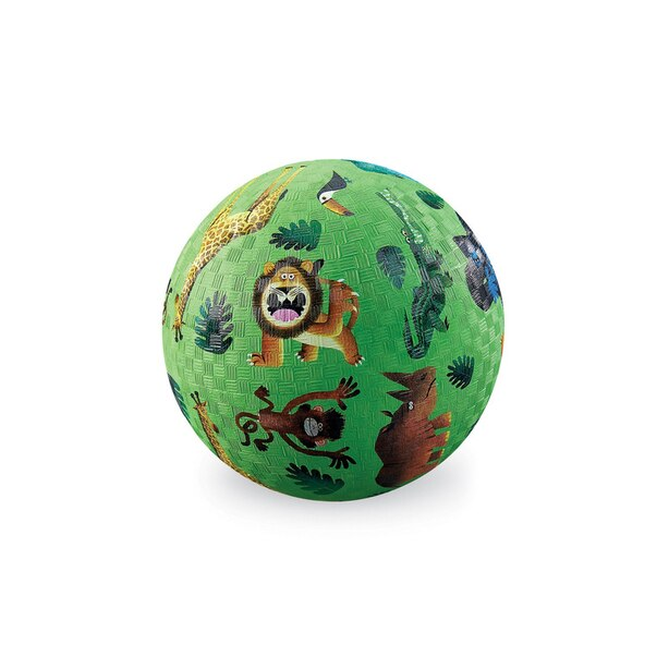 "Crocodile Creek 7"" Very Wild Animals Playground Ball"