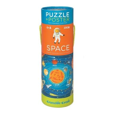 Crocodile Creek Poster Puzzle - Space