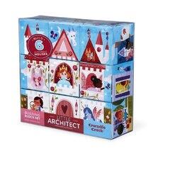 Little Architect- Princess Builder-Jumbo Building Block Puzzle