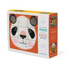 Make a Face Animal -Mix & Match Blocks