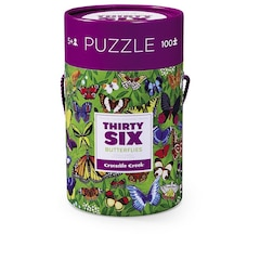 Crocodile Creek Thirty-Six Butterfly Puzzles - 100 pc.
