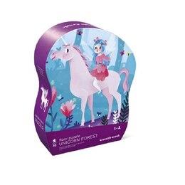 Unicorn Forest 36 pc Shaped Box Floor Puzzle