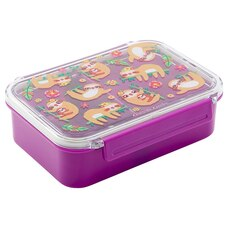 Crocodile Creek x IndigoKids Bento Lunchbox Sloths