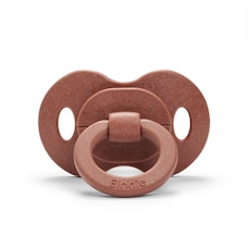 Elodie Details Bamboo Pacifer Natural Rubber - Burned Clay