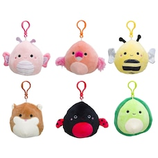 """3.5"""" SQUISHMALLOW CLIP ON (SHIPS 1 OF 6 ASSORTED)"""
