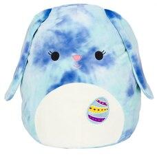 "Squishmallow 8"" Bunny - Tie Dye Blue"